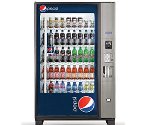 Pepsi Bottle Drop Vending Machine