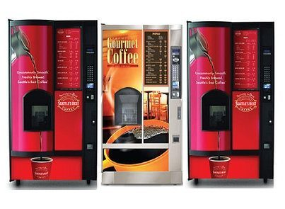 Drop Cup Vending Machines